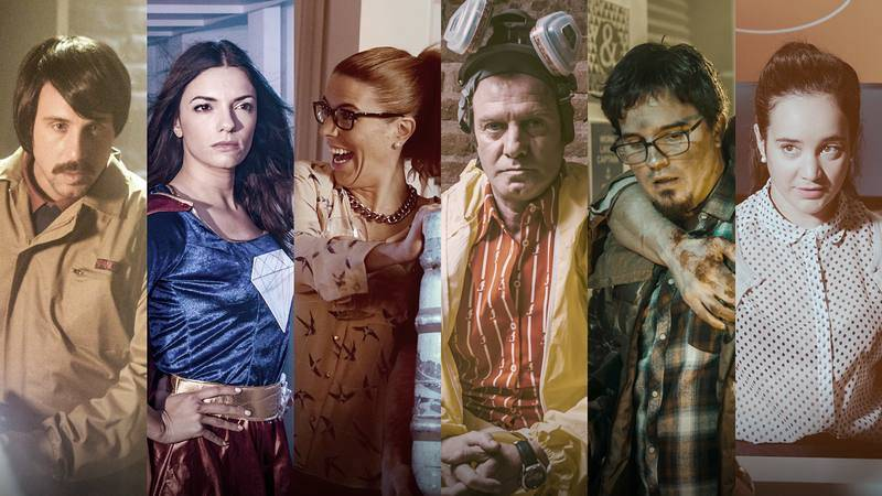 Los protagonistas de 'Neverfilms'