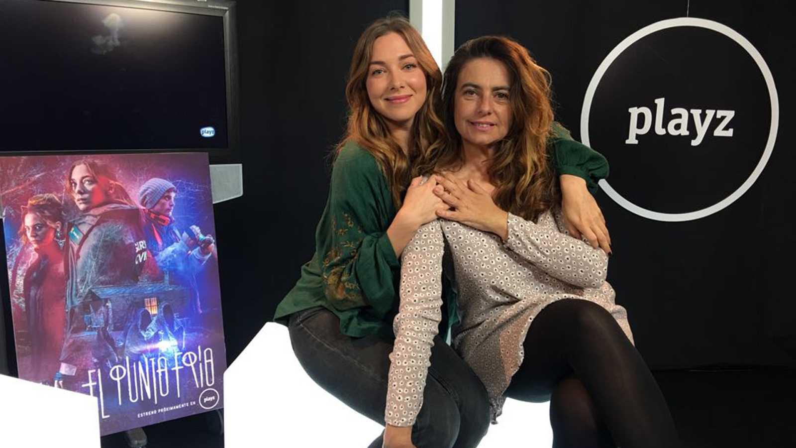Natalia Rodríguez y Lola Baldrich presentan 'El punto frío' en un Facebook Live