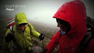 Noticia Cumbres consiste en subir con Edurne Pasabán y un invitado a una cima de la geografía española