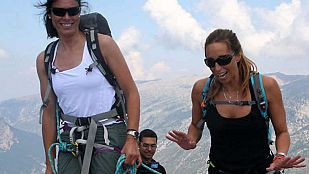 Noticia Gemma Mengual es la primera invitada de Edurne Pasabán en 'Cumbres'
