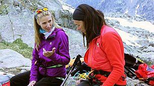 Noticia Judit Mascó y Edurne Pasaban suben a L'Agulla Gran d'Amitges, en el Pirineo Catalán