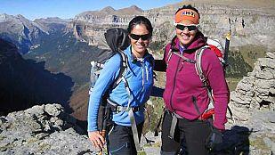 Noticia Laia Sanz sube al Monte Perdido con Edurne Pasabán