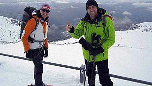 Noticia Edurne  y Julio Salinas suben a La Torreta de l'Orri