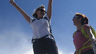 Noticia Ainhoa Arteta sube al Monte Aitxuri