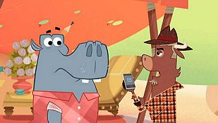 Video ¿Quién ha engañado al hipopótamo?