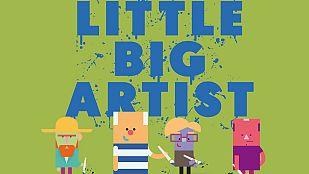 Video ¿Quieres pintar como un gran artista? Aprende con la nueva app Little Big Artist Clan