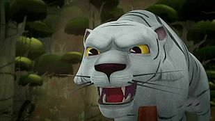 Video The mountain of white tigers