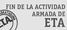 ETA: Fin de la actividad armada