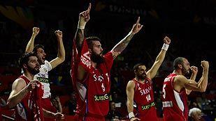 Serbia jugará la final ante EE. UU. tras ganar a Francia