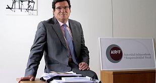 El presidente de la autoridad fiscal independiente, José Luis Escrivá