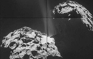 Rosetta, cada vez más cerca del cometa 67P