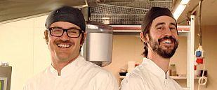 Luis y Marc, jóvenes pasteleros modernizadores del churro