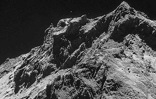 El cometa visto a tan solo 10 kilómetros de distancia