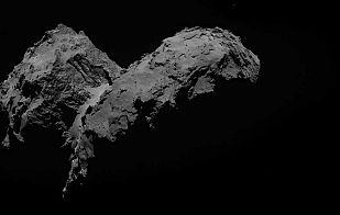 La cámara OSIRIS inmortaliza el cometa a 29 kilómetros