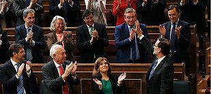 Rajoy echa el cierre a la crisis en un bronco debate con reproches de la oposición sobre desigualdad y corrupción