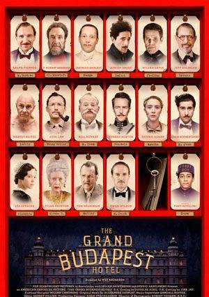 'El gran hotel Budapest' de Wes Anderson