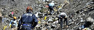 Se estrella en Francia un avión que iba de Barcelona a Düsseldorf con 150 personas