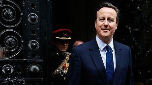 Cameron promete el referéndum sobre la Unión Europea al asumir el nuevo mandato