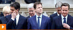 Miliband y Clegg, los grandes derrotados