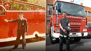 El homenaje de Cuéntame a los bomberos de Alcalá 20