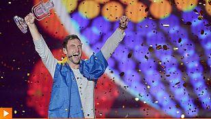 Måns Zelmerlöw consigue el sexto triunfo para Suecia en Eurovisión