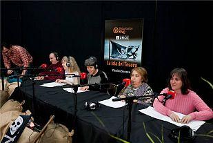 Representada en RNE la primera ficción sonora interpretada por personas ciegas, coordinadas por voluntarios de RTVE