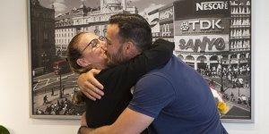 Saúl Craviotto homenajea a su madre