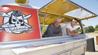 Carlos Maldonado y su padre Carlos Maldonado, 'Los Maldonado'