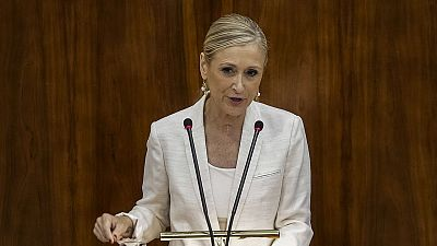 Cifuentes, presidenta de Madrid con los votos de PP y Ciudadanos
