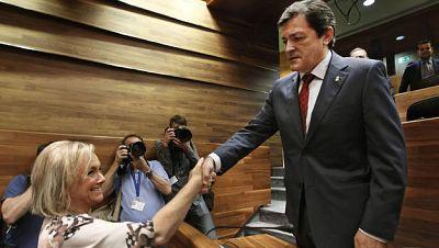 Javier Fernández, reelegido presidente de Asturias