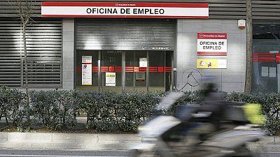 Imagen de archivo de una oficina de empleo de Madrid.