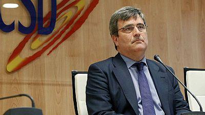 El secretario de Estado para el Deporte y presidente del CSD, Miguel Cardenal