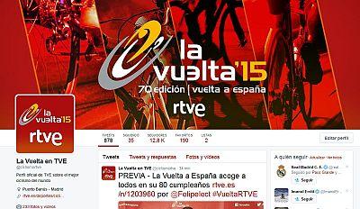 Sigue a la cuenta de Twitter del Tour en RTVE