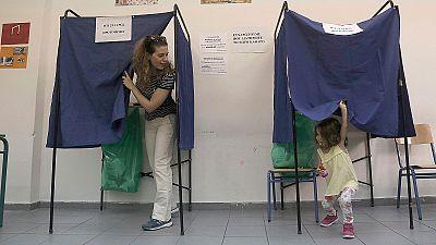 La jornada electoral, en imágenes