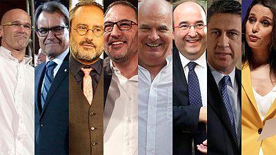 Candidatos catalanas