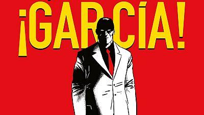 Fragmento de la portada de '¡Garcia!'