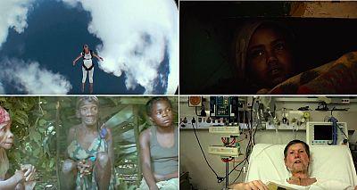 Algunos de los protagonistas de la película colectiva 'Life in a Day', estrenada en 2011