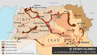 El Estado Islámico, la amenaza yihadista que atemoriza a Siria e Irak