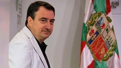 El portavoz del PNV en el Congreso de los Diputados, Aitor Esteban, en una entrevista con Efe