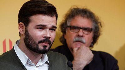 Gabriel Rufián, candidato de ERC al Congreso en las elecciones generales del 20D
