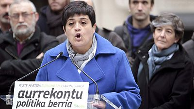 La candidata de EH Bildu por Guipúzcoa, Marian Beitialarrangoitia.