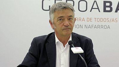 El candidato de Geroa Bai a la presidencia del Gobierno, Koldo Martínez