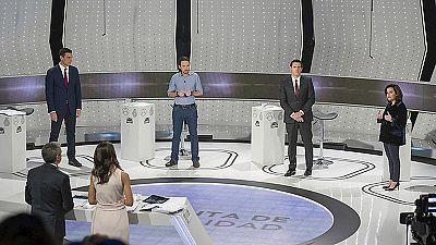 Los duelos más destacados en el debate a cuatro