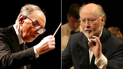 Ennio Morricone (87 años) y John Williams (83 años)