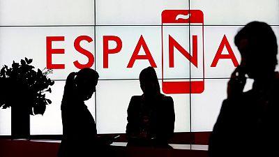 El Pabellón de España tiene una superficie de 650 metros cuadrados.