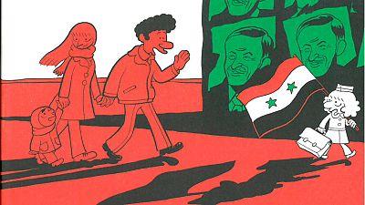 Fragmento de la portada de 'El árabe del futuro 2'