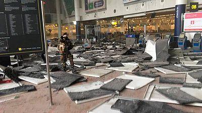Las imágenes de los atentados en las redes sociales
