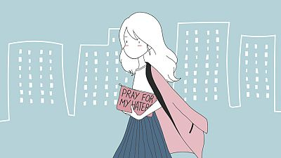 Fragmento de la portada de 'Miniblogger'