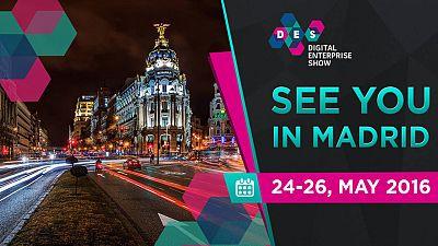 Madrid albergará la primera edición de Digital Enterprise Show.