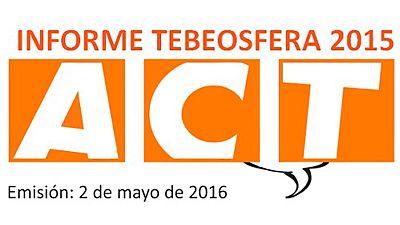 Logo de Tebeosfera, la encargada del Informe anual sobre el cómic en España